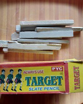 Target thick slates