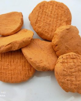 Red clay biscuits