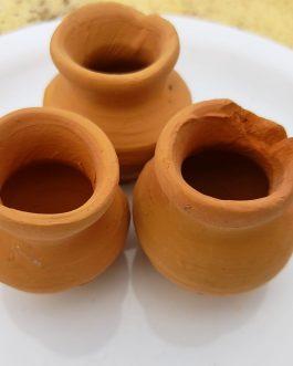 Indian Mini clay pots